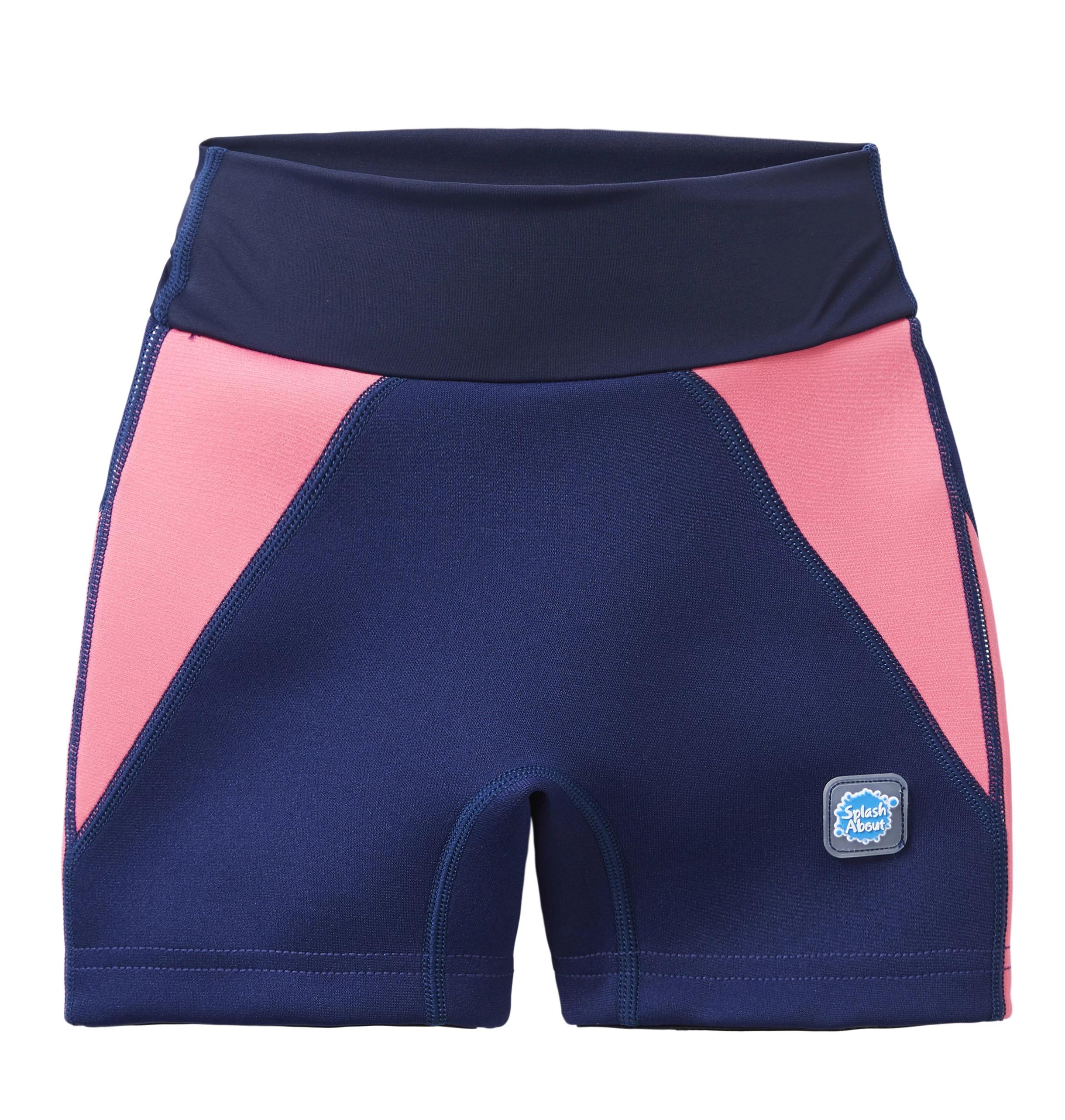 Short de Baño Antifugas Splash Jammers Azul/Rosado
