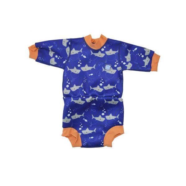 Traje de baño c/ Mangas Shark